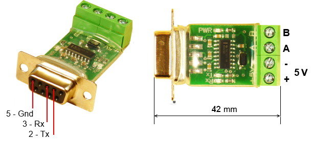 RS-232 to RS-485 Convertor